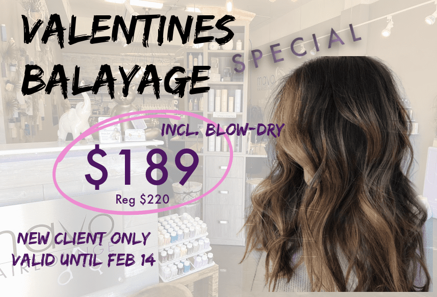 VALENTINES BALAYAGE SPECIAL